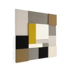 Whisper | Acoustic Panel Collage | Wall panels | Woodnotes