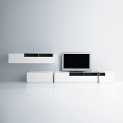Inmotion wall system | Multimedia sideboards | MDF Italia