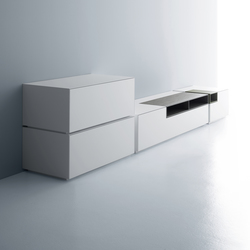 Inmotion wall system | Commodes multimédia | MDF Italia