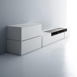 Inmotion wall system | Multimedia sideboards | MDF Italia