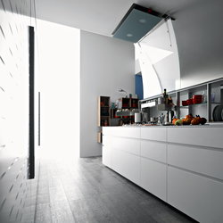 New Logica System Isola | Fitted kitchens | Valcucine