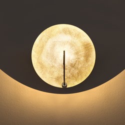 Luna parete 1 LED | Wandleuchten | Catellani & Smith