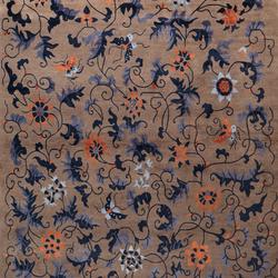 Naturitas Fine 100 Flowers | Formatteppiche / Designerteppiche | Domaniecki