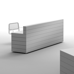 CUbox Cod. 09901 | Reception desks | do+ce
