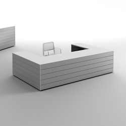 CUbox Cod. 09910 | Reception desks | do+ce