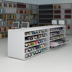 CUbox Cod. 10012 | Library shelving systems | do+ce