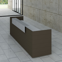 CUbox Cod. 10019 | Reception desks | do+ce