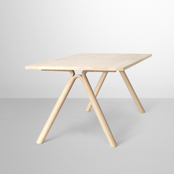 Split Dining Table | Scrivanie individuali | Muuto