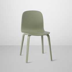 Visu Chair | wood base | Sillas para restaurantes | Muuto