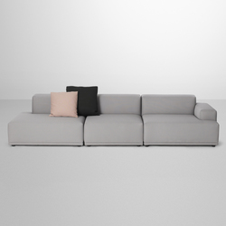 Connect Sofa | 3-seater open | Canapés d'attente | Muuto