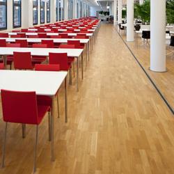 LIGNA raised floors | Wood flooring | Lindner Group