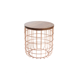 Wire Group Sidetable | Stool | Mesas auxiliares | Dare Studio