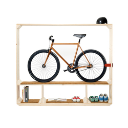 Shoes, Books and a Bike | Shelving | Postfossil