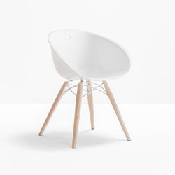 Gliss WOOD 904 | Restaurant chairs | PEDRALI