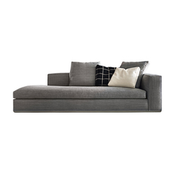 Powell | Chaise longue | Minotti