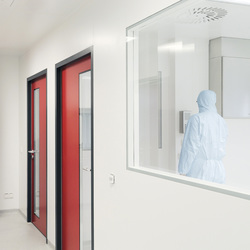 Clean Room Partitions | Architectural systems | Lindner Group