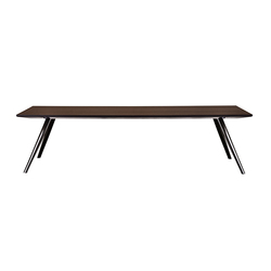 Dining tables with base in aluminum 4 tables home for Ar 11 6 table 6 2