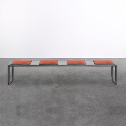 Bench on_01 | Upholstered benches | Silvio Rohrmoser