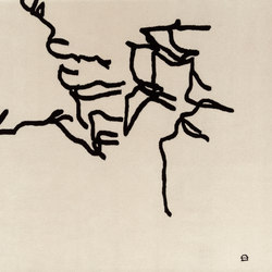 Chillida Dibujo Tinta 1957 | Tapis / Tapis design | Nanimarquina