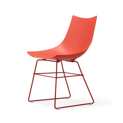 Luc chair metal | Visitors chairs / Side chairs | Rossin