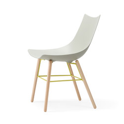 Luc chair wood | Sillas de visita | Rossin