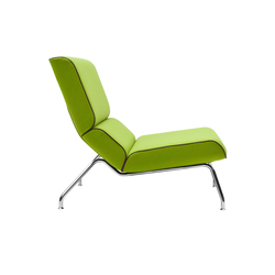 Milo lounge chair | Poltrone lounge | Softline A/S