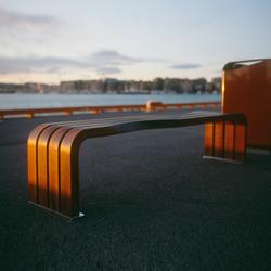 Dialog bench | Bancos de exterior | Vestre