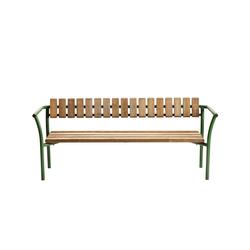 Parc bench | Exterior benches | Vestre
