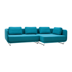 Setup sofa | chaise long | Modular seating systems | Softline A/S