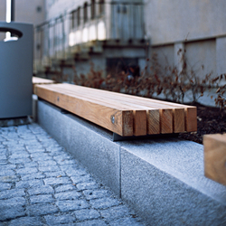 Porto bench | Panche da esterno | Vestre