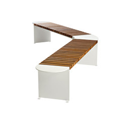 Vroom bench | Exterior benches | Vestre
