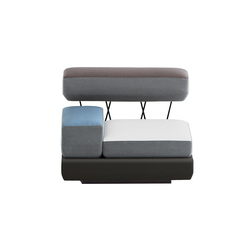 plot | Modular seating elements | Brunner