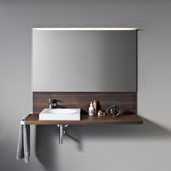 Delos Console with back panel | Vanity units | DURAVIT