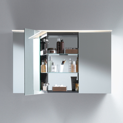 Delos Armadietto a specchio | Armadietti a specchio | DURAVIT