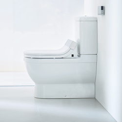 Starck C Toilet close-coupled | Water-spray toilets | DURAVIT