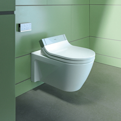 Starck C Toilet wall mounted | Water-spray toilets | DURAVIT