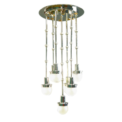 Steinhof 7fl chandelier | General lighting | Woka