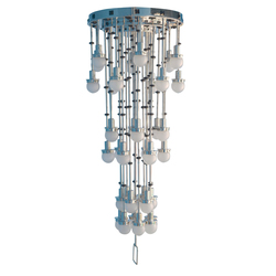 Steinhof 36fl Chandelier | General lighting | Woka