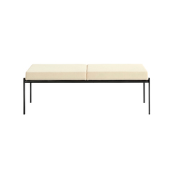 Kiki Bench | 2-seater | Waiting area benches | Artek