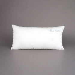Sing a song cushion Blue Hotel | Cushions | Chiccham