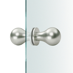 FSB 23 0844 Glass doorknobs | Knob handles for glass doors | FSB