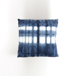 Tie & Dye Striations Marine | Cushions | Chiccham