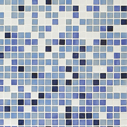 Fading Outs Azul | Glass mosaics | Ezarri