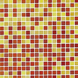 Fading Outs Rojo | Glass mosaics | Ezarri