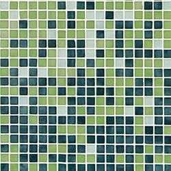 Fading Outs Verde | Glas Mosaike | Ezarri