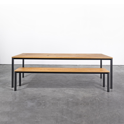 Table and Bench at_11 | Dining tables | Silvio Rohrmoser