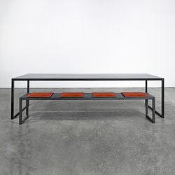 Table and Bench on_01 | Banquettes | Silvio Rohrmoser