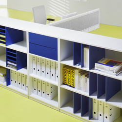 Shelving system facett | Shelving systems | ophelis