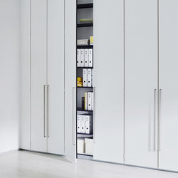 Dividing cabinet aluminium | Shelving systems | ophelis
