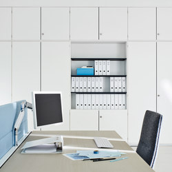 Dividing cabinet as one-piece | Shelving systems | ophelis